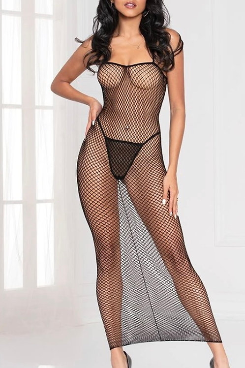 Sexy Fishnet Dress