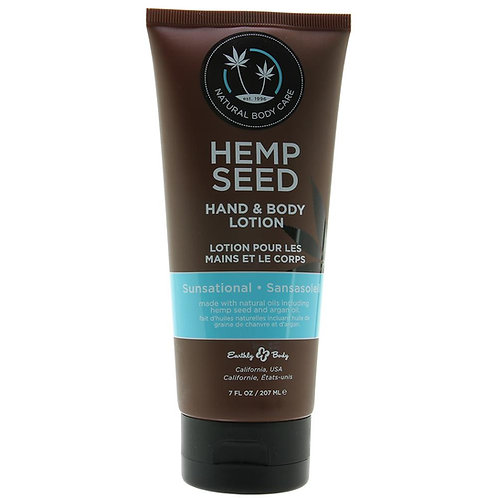 Hemp Seed Hand & Body Lotion 7oz/207ml in Sunsational