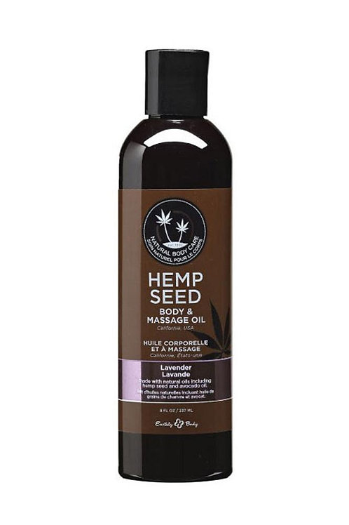 Hemp Seed Massage Oil 2oz/60ml in Lavender