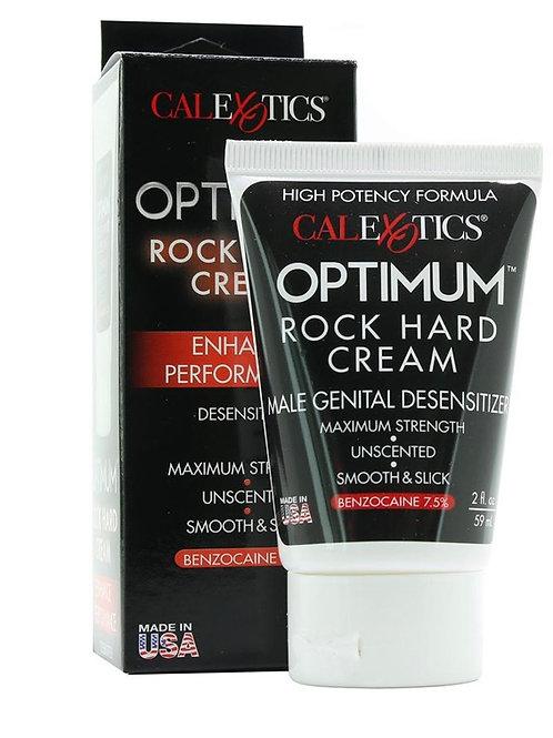 Optimum Rock Hard Cream in 2oz
