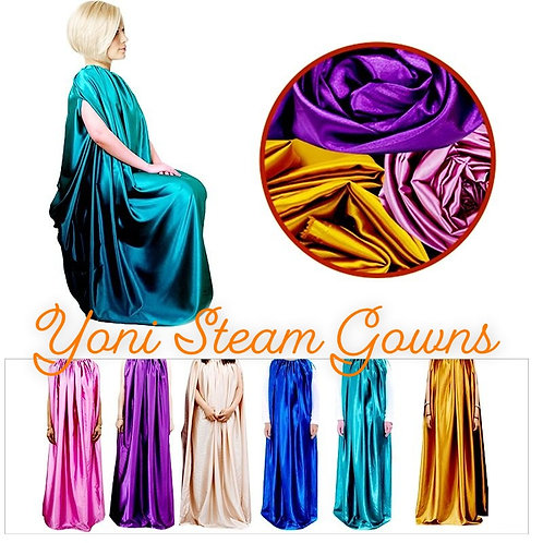 Luxe Yoni Steam Gowns