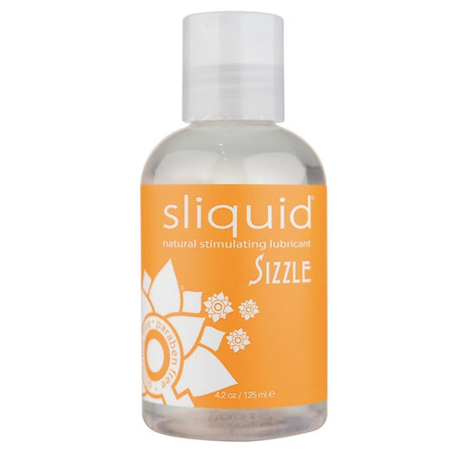 Sizzle Natural Stimulating Lubricant in 4.2oz/125ml