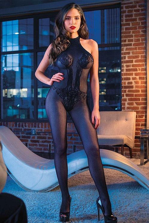 Halter Lace Body Suit CalExotics