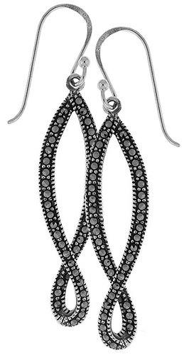 #077  Infinity Earrings