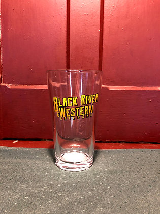 Black River & Western Railroad Pint Glass