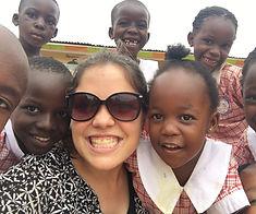 volunteers at Circle of Peace School