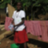 image of girl at Circle of Peace School