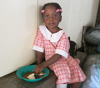 image of girl, a student at Circle of Peace School