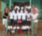 Volunteers and staff at Circle of Peace School