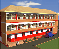 Picture of proposed new building at Circle of Peace School