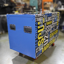 Wrapped Shipping Case