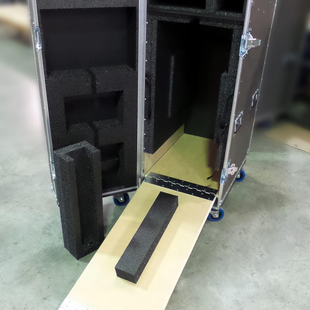 Ramped Case on Wheels