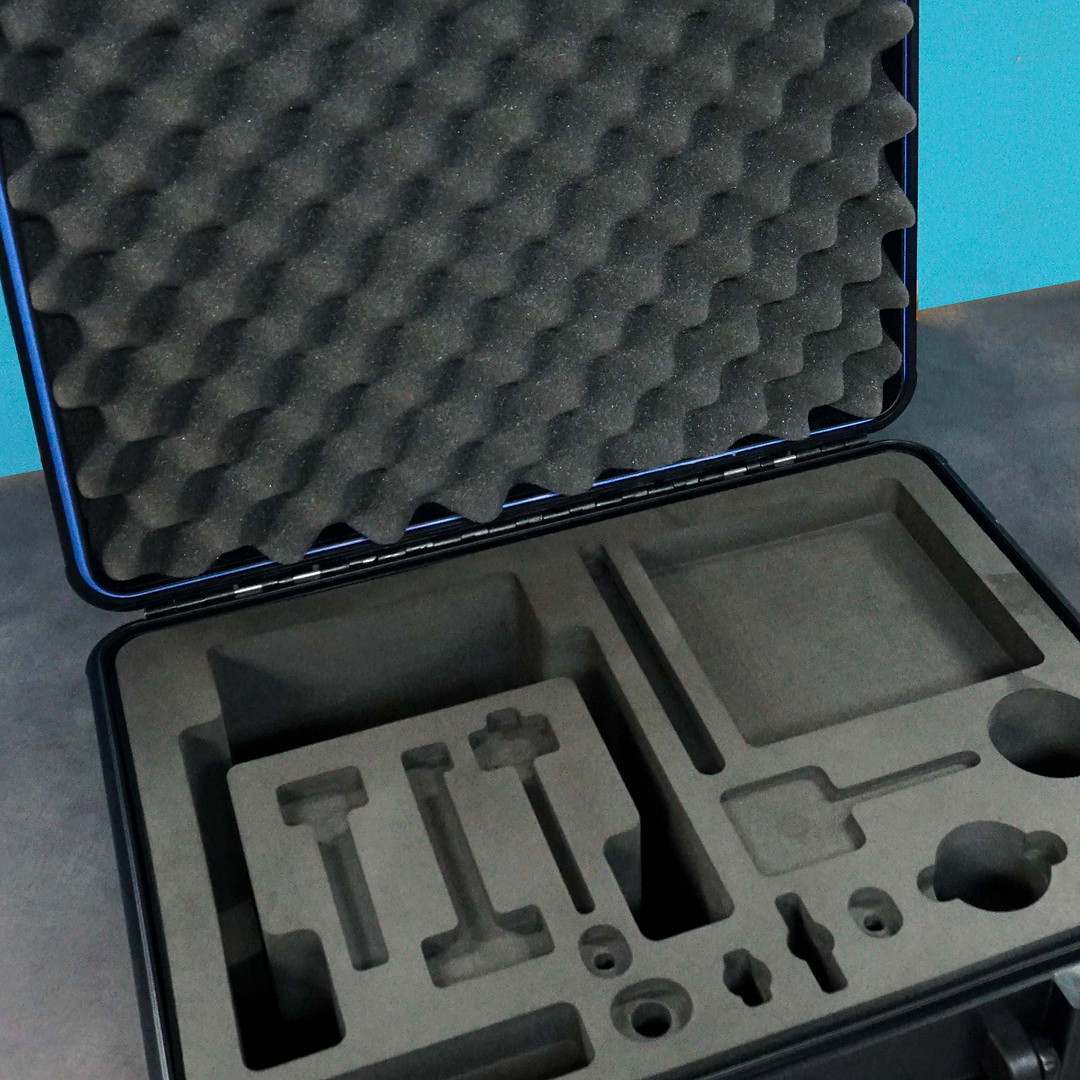 CNC Foam Insert in Molded Case