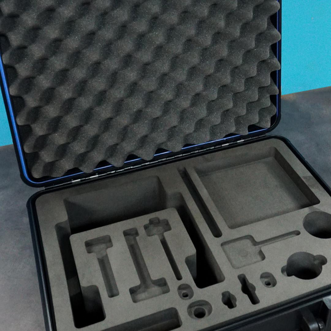 CNC Foam Insert in Molded Case