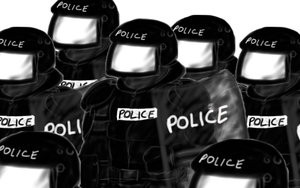 Who do you call when you need protecting from the police ?
