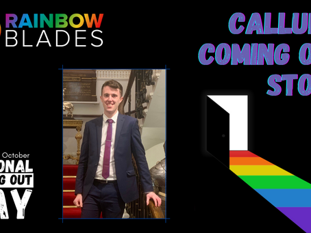 National Coming Out Day Blog: Callum McKay