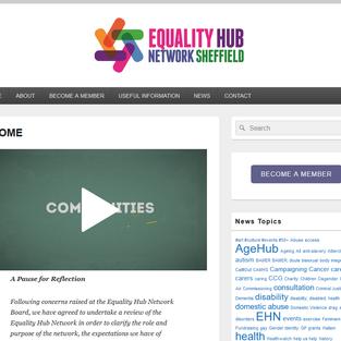 Equality Hub Network Sheffield