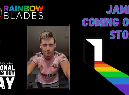 National Coming Out Day Blog: James Laley