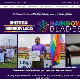 Sheffield Rainbow Laces