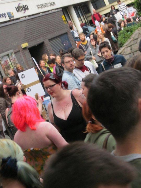 Manchester Slut Walk
