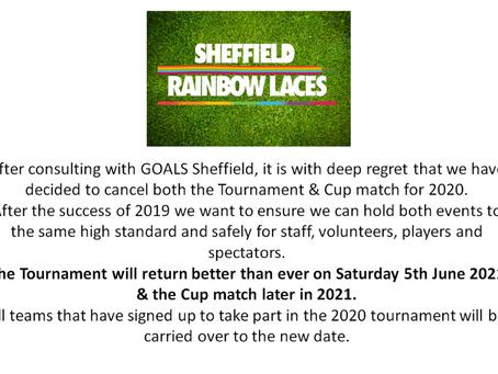 Sheffield Rainbow Laces Coronavirus update