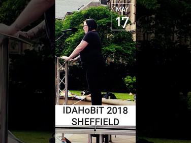 IDAHoBiT 2018 Sheffield