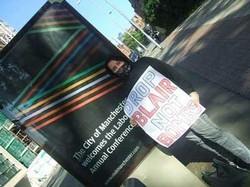 Manchester Anti War Demo