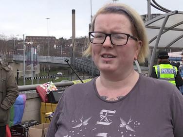 Ponds Forge protest against 'hate' preacher visit
