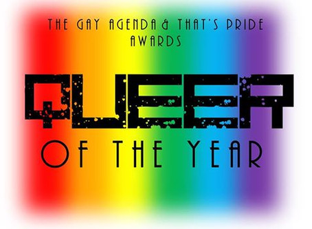 The Gay Agenda and That's Pride Queer of The Year Awards 2016 [Update]