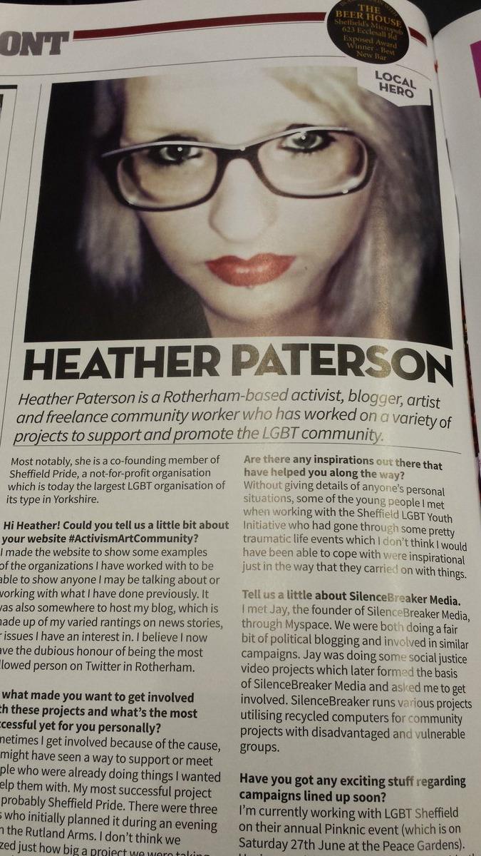 Exposed Magazine - Local Hero