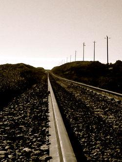 train tracks near Panther Beach