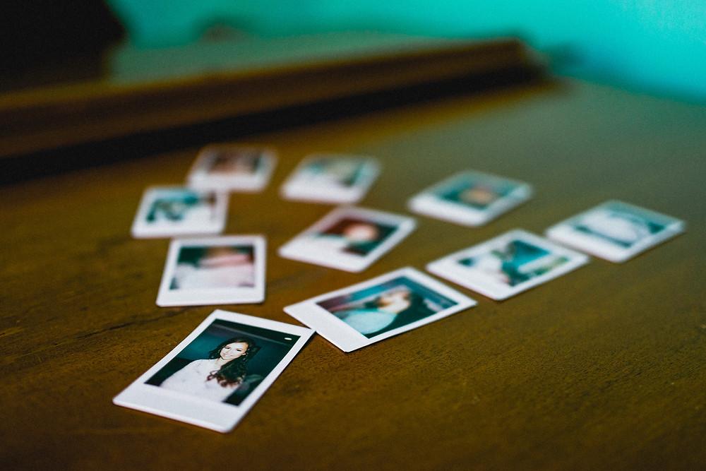 Retro Fujifilm INSTAX prints