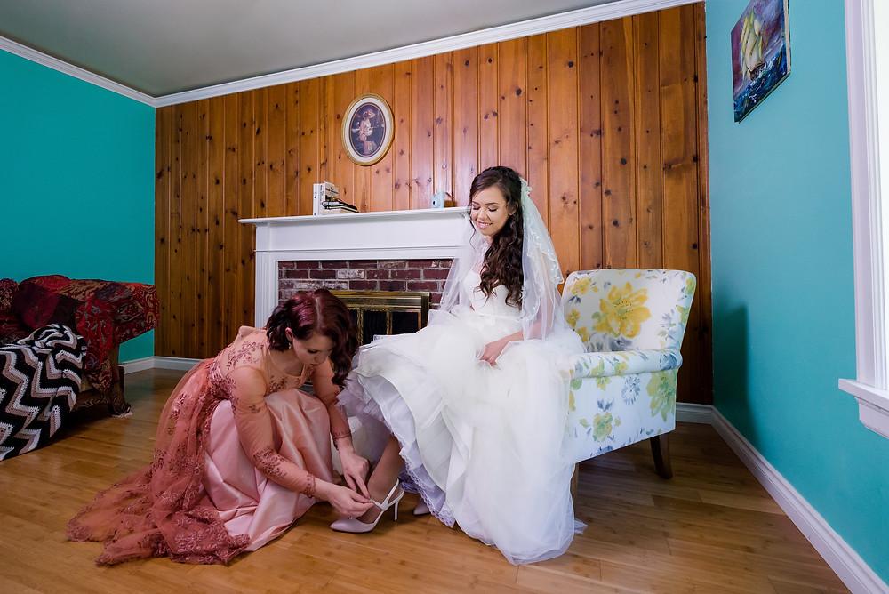 bride's shoes, Cinderella