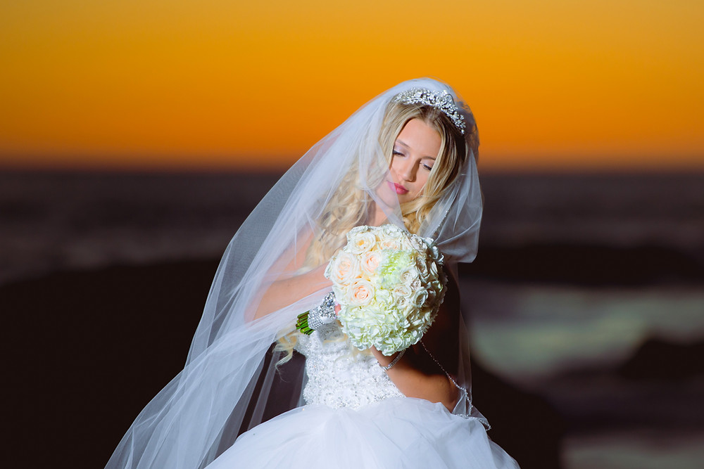 fine art photography of wedding, bride