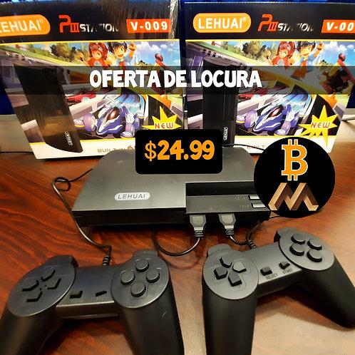 Consola Black de 600 juegos