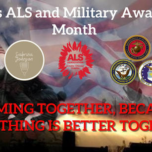 Military and ALS Awareness Month