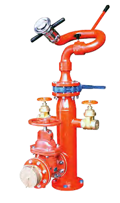 Hydrant with Monitor