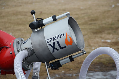 dragon xl nozzle picture from the side