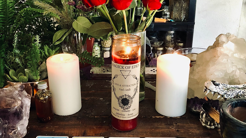 Love & Attraction Fixed Candle