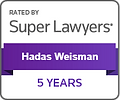 Super Lawyers - Hadas Weisman