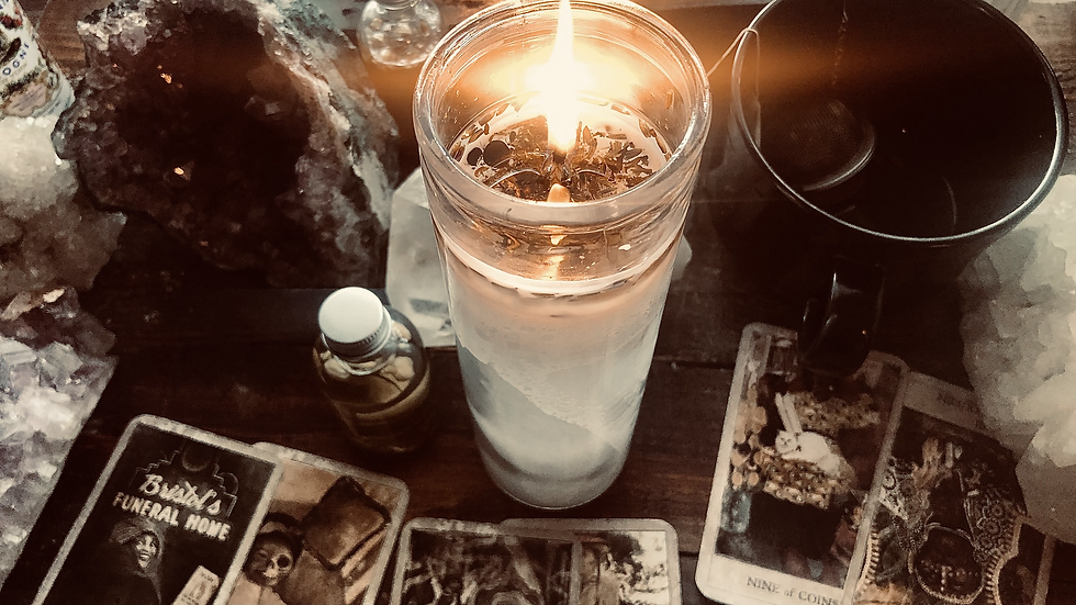 Sweet Love & Protection Fixed Candle
