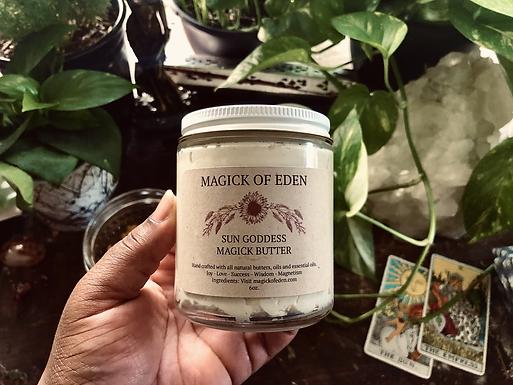 Sun Goddess Magick Butter