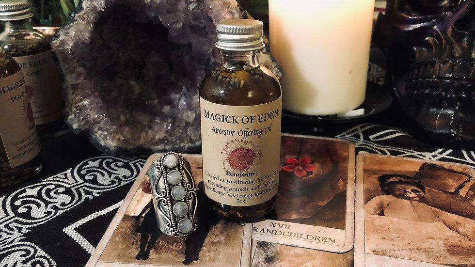 Ancestor Offering Oil (Feminine)