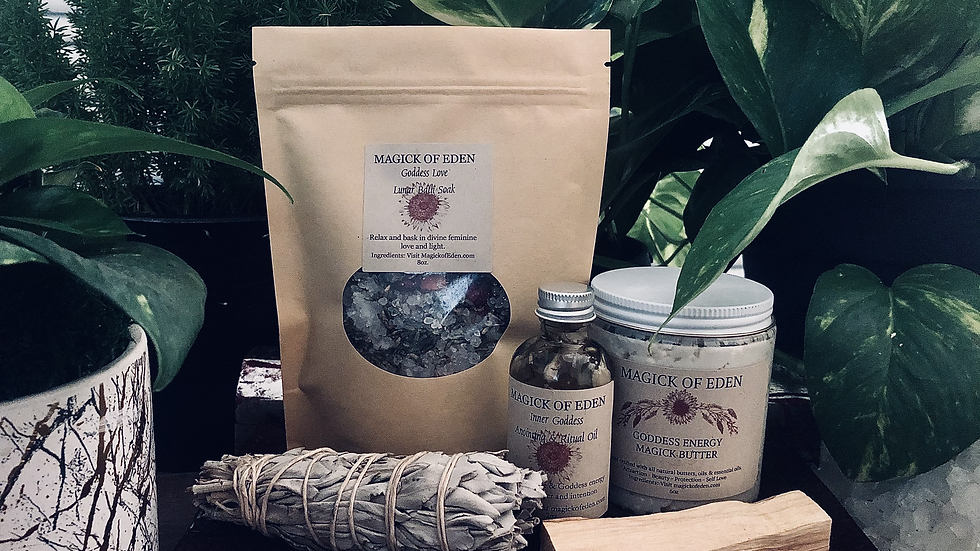 Goddess Love Self Care Bundle