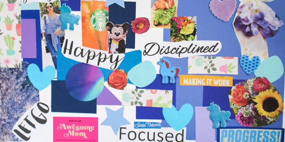 Womens Sacred Circle - Creating a vision board online