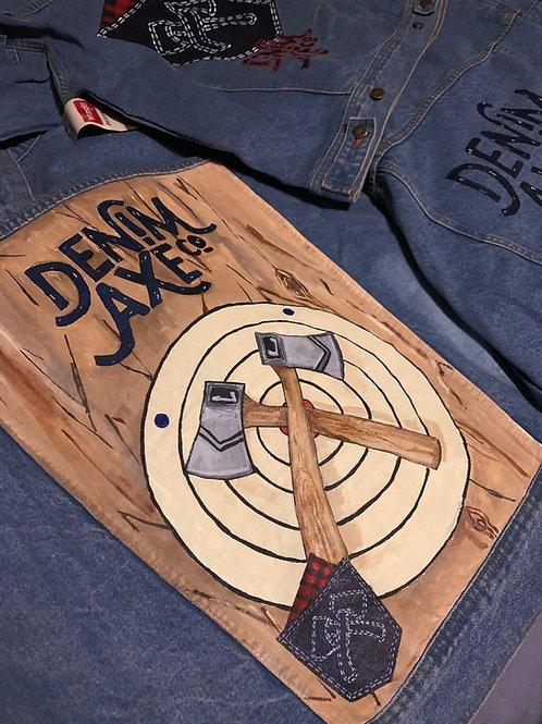 Denim Jackets (Wrangler) Hand Painted