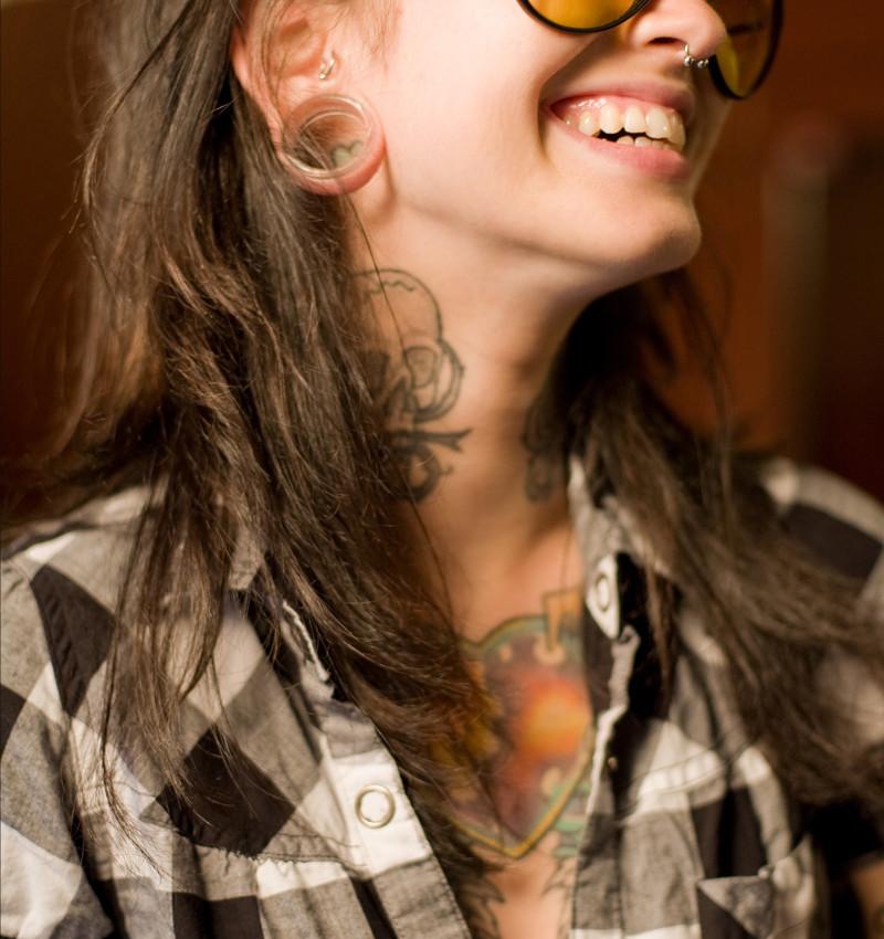 Punk tatoué