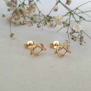 Forever Knot Earrings
