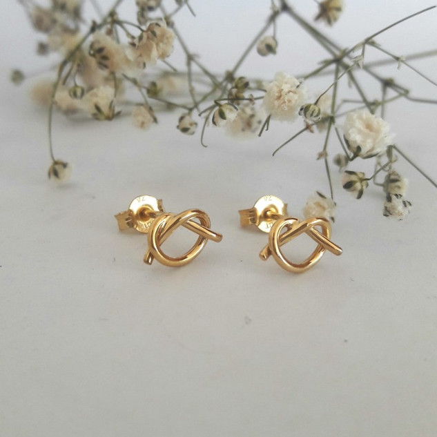 Forever Knot Earrings