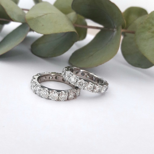 Full Eternity Wedding Rings
